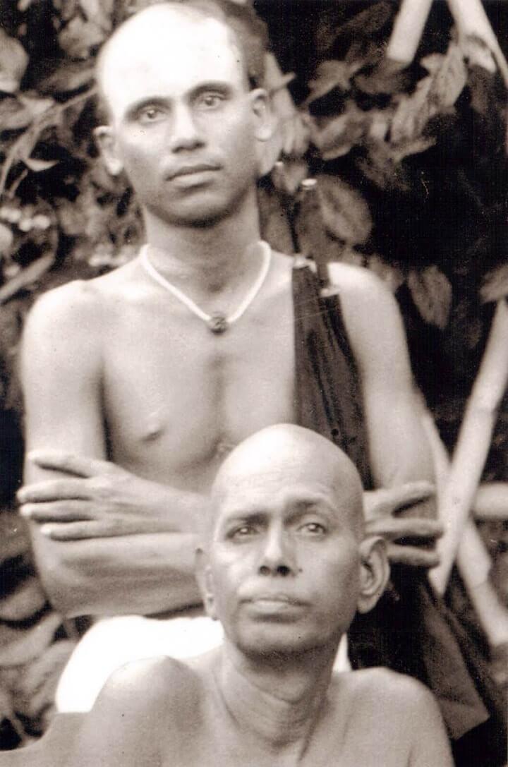 Annamalai with Bhagavan Ramana