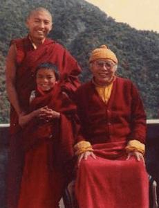 Mingyur with Tulku Urgyen Ri