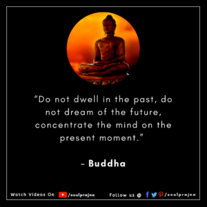 Gautama Buddha Spiritual quote Soulprajna
