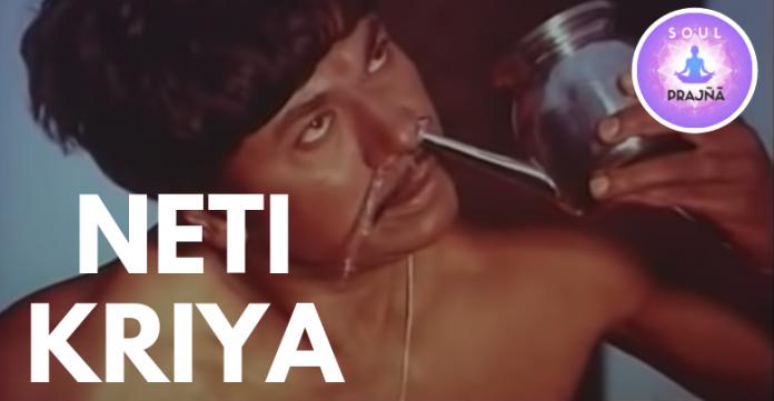 Neti Kriya - Spiritual Prajna