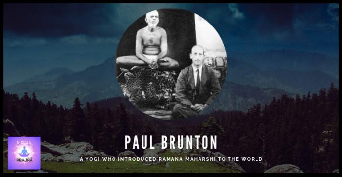 PAUL BRUNTON - SOULPRAJNA