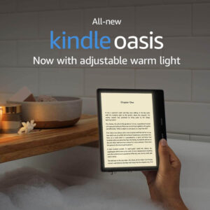 "All-New Kindle Oasis (10th Gen) - Now with adjustable warm light, 7"" Display, 32 GB, WiFi (Champagne Gold)"
